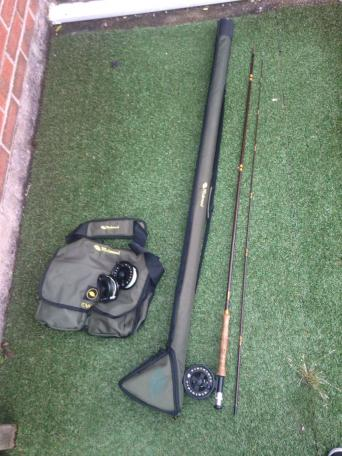 Used fly reel for sale second hand fishing kit and for Used fly fishing gear for sale