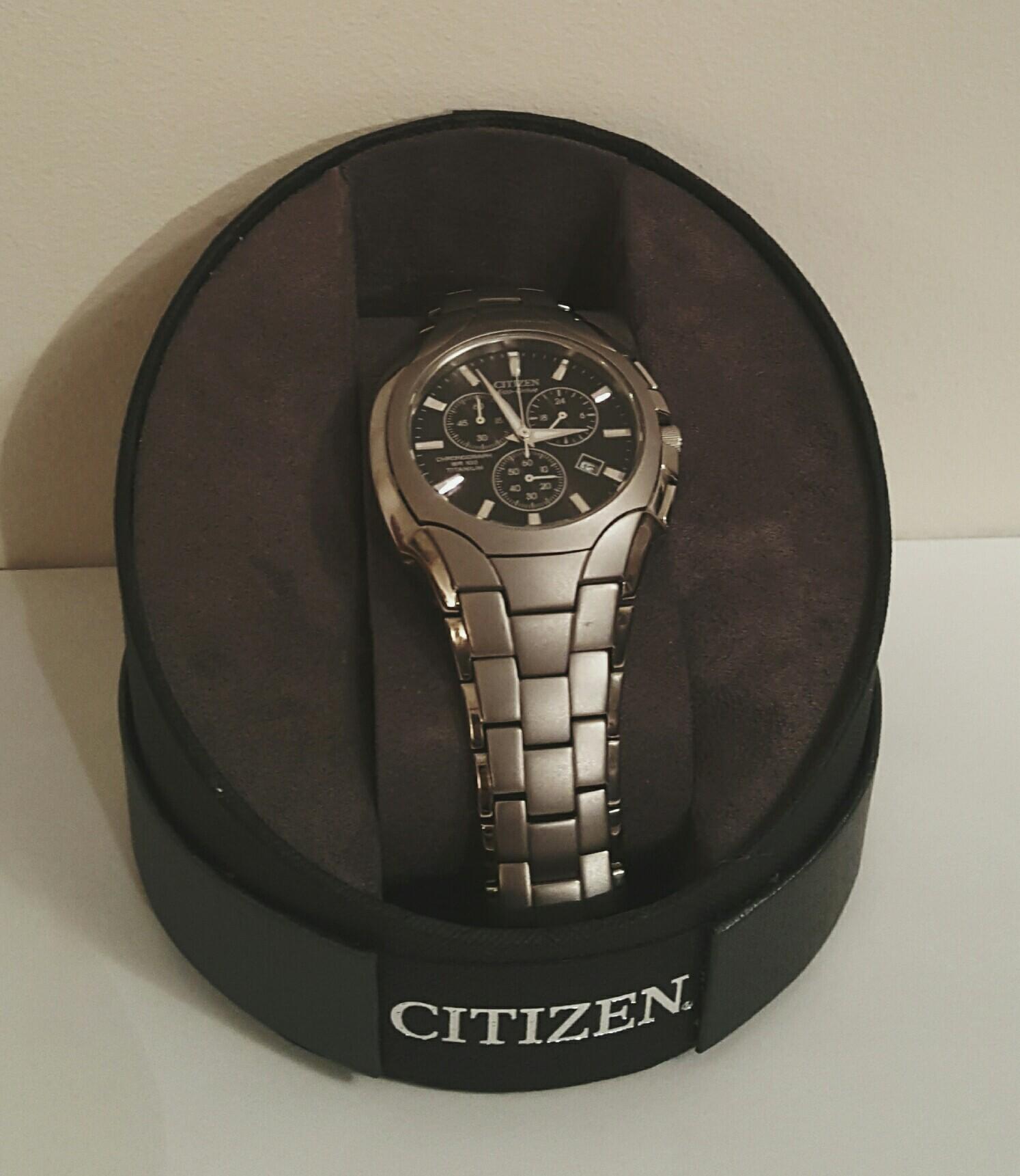 citizen eco drive titanium sapphire wr100 manual