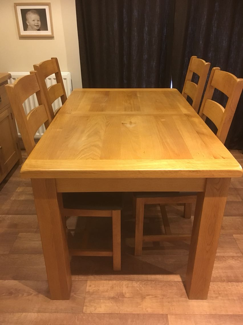 second hand dining table and chairs peterborough download