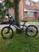 Two boys bmx style bikes. Black big daddy and silver virus. - £20