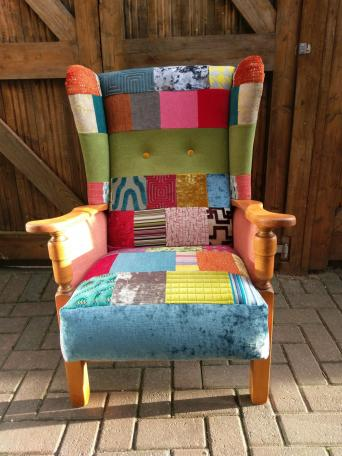 patchwork chairs second hand household furniture buy and sell in