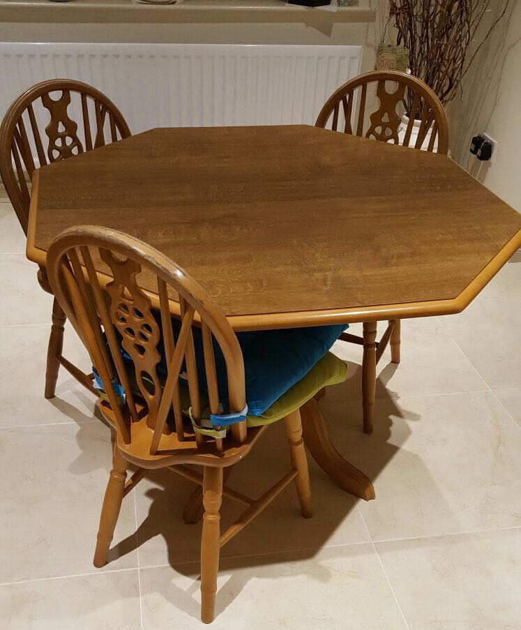 second hand dining table and chairs newry images