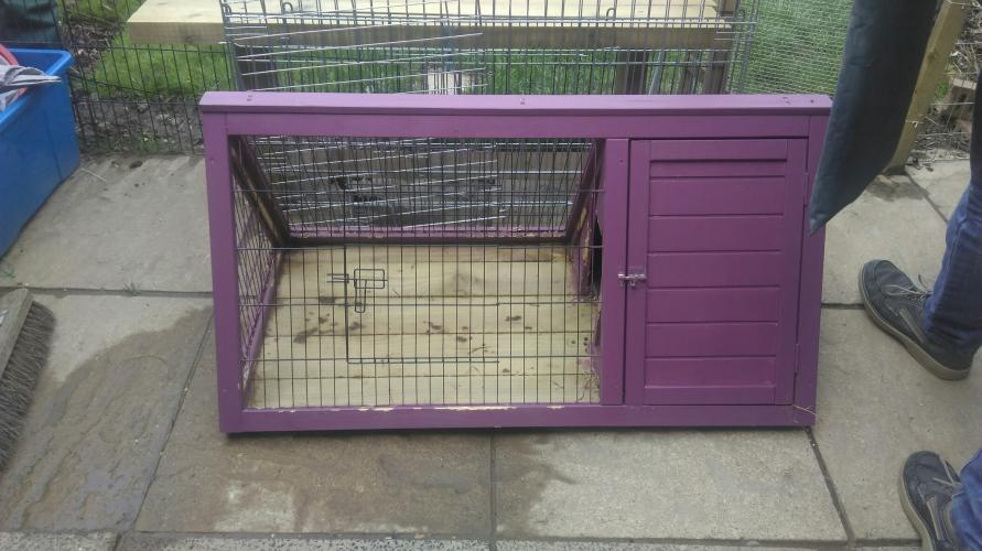 Guinea Pig Rabbit Hutch For Sale In Oswestry Shropshire