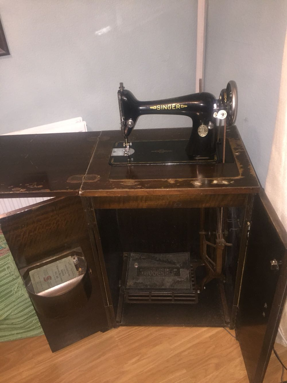 antique sewing machine tables for sale