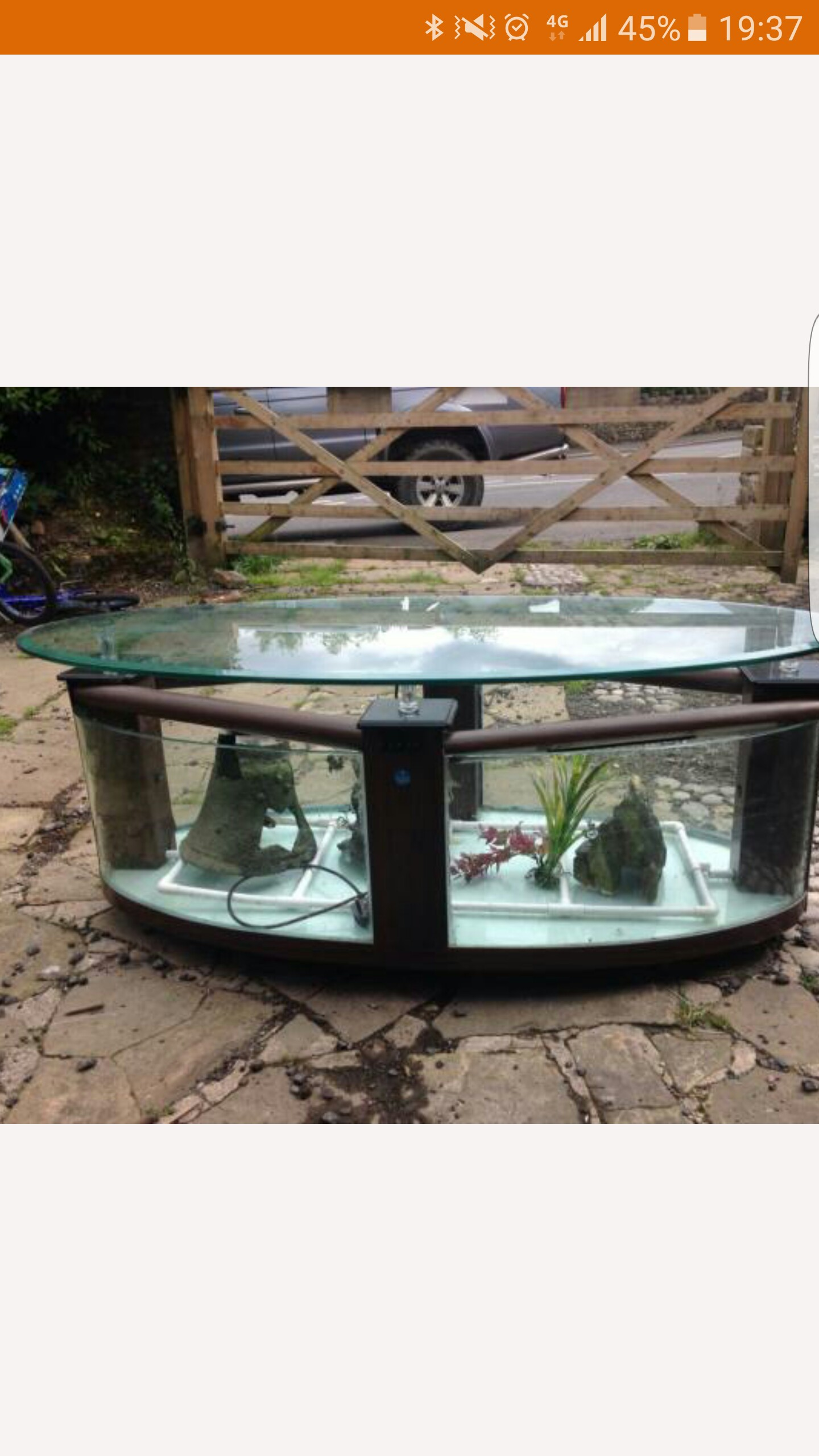 Table fish tank for sale in uk 79 used table fish tanks for Coffee table fish tank for sale