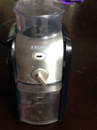 Krups Coffee Maker Grinder Problems : Burr Coffee Grinder for sale in UK View 61 bargains