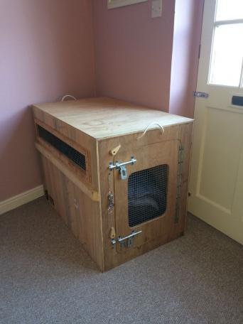 large wooden crates for sale in uk view 70 bargains. Black Bedroom Furniture Sets. Home Design Ideas