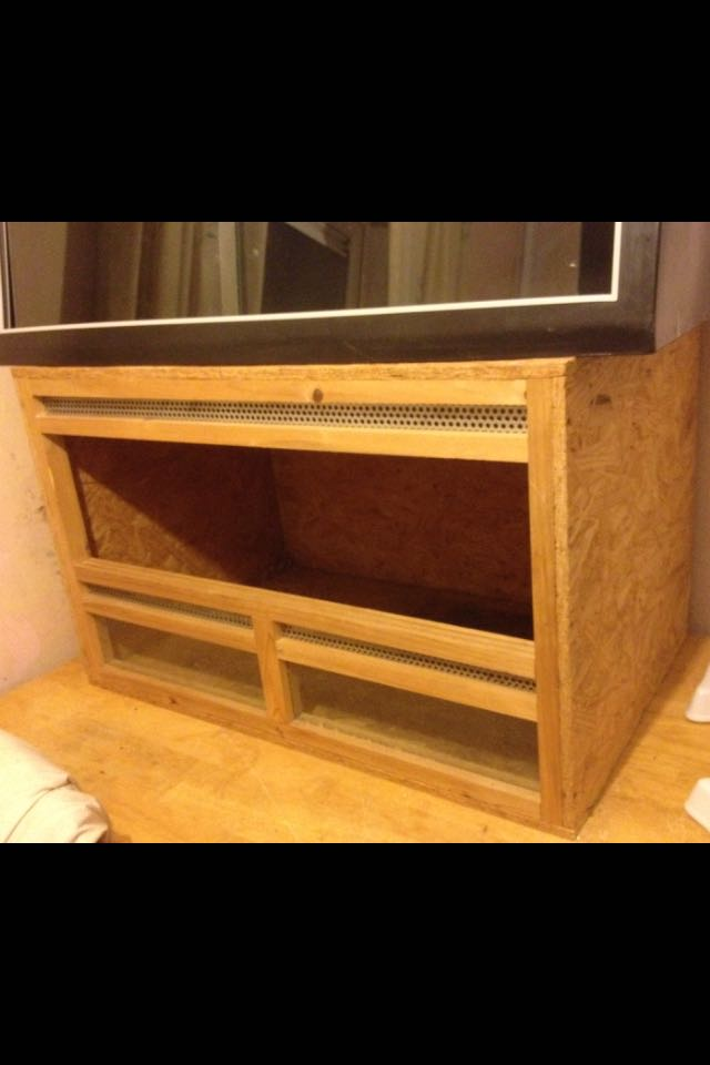 Spacious used vivarium. HOMCOM brand. Measures 80x50x50cm. Needs a good clean and has no doors. RRP £40-50 new. Grab a bargain! & vivariums - Local Classifieds For Sale in South Yorkshire | Preloved Pezcame.Com