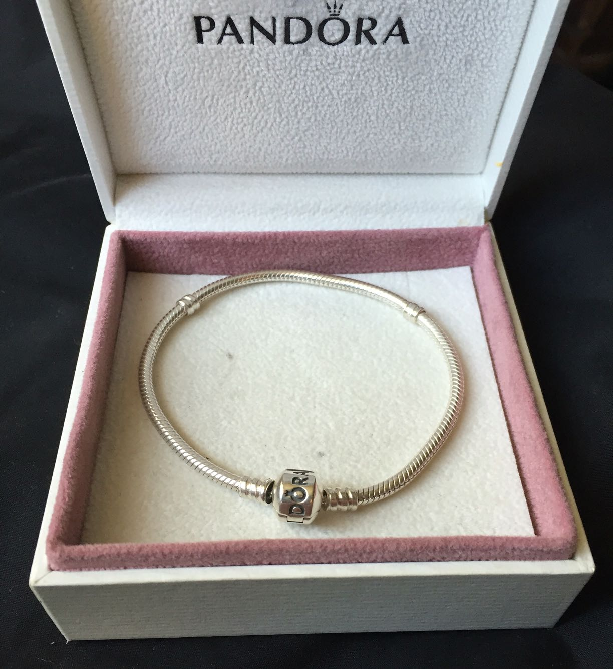pandora bracelet 20cm second hand