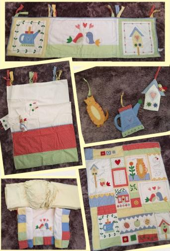 nursery curtains - Second Hand Cots and Bedding, Buy and Sell in ...