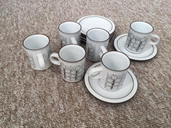 Alpine Cuisine Fine Porcelain Germany Of Espresso Cups Second Hand Cutlery And Crockery Buy And