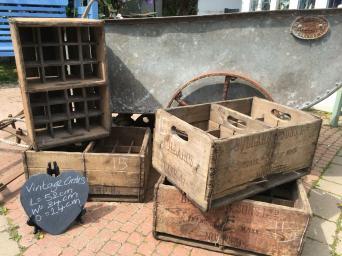 wooden fruit crates for sale in uk view 125 bargains. Black Bedroom Furniture Sets. Home Design Ideas