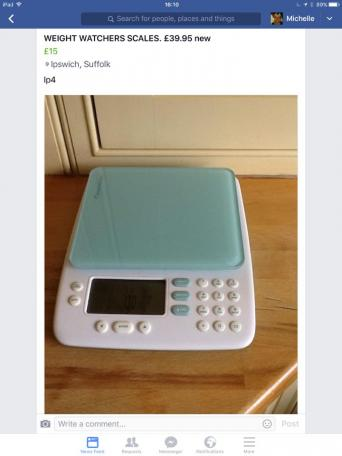 weight watchers kitchen scales for sale in uk. Black Bedroom Furniture Sets. Home Design Ideas