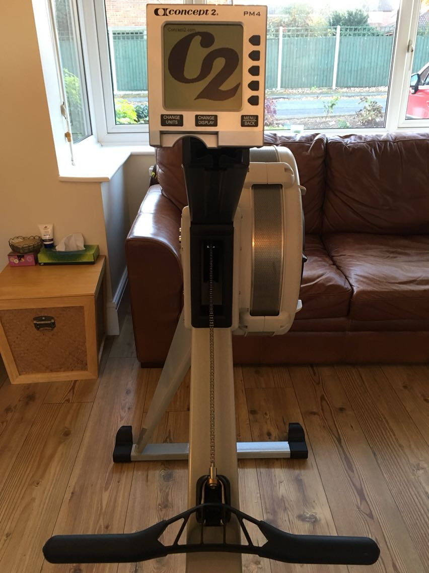 used concept 2 rowing machine sale
