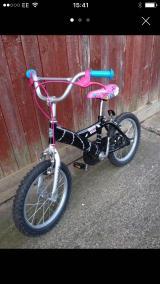 Girls Monster High Bike - £30