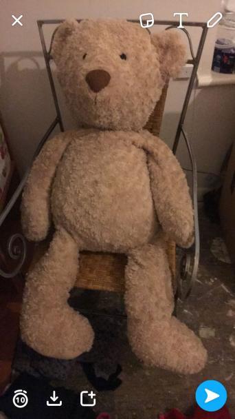 giant teddy bear for sale in uk view 115 bargains. Black Bedroom Furniture Sets. Home Design Ideas