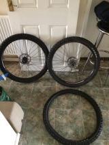Brand new carrera wheels - £100