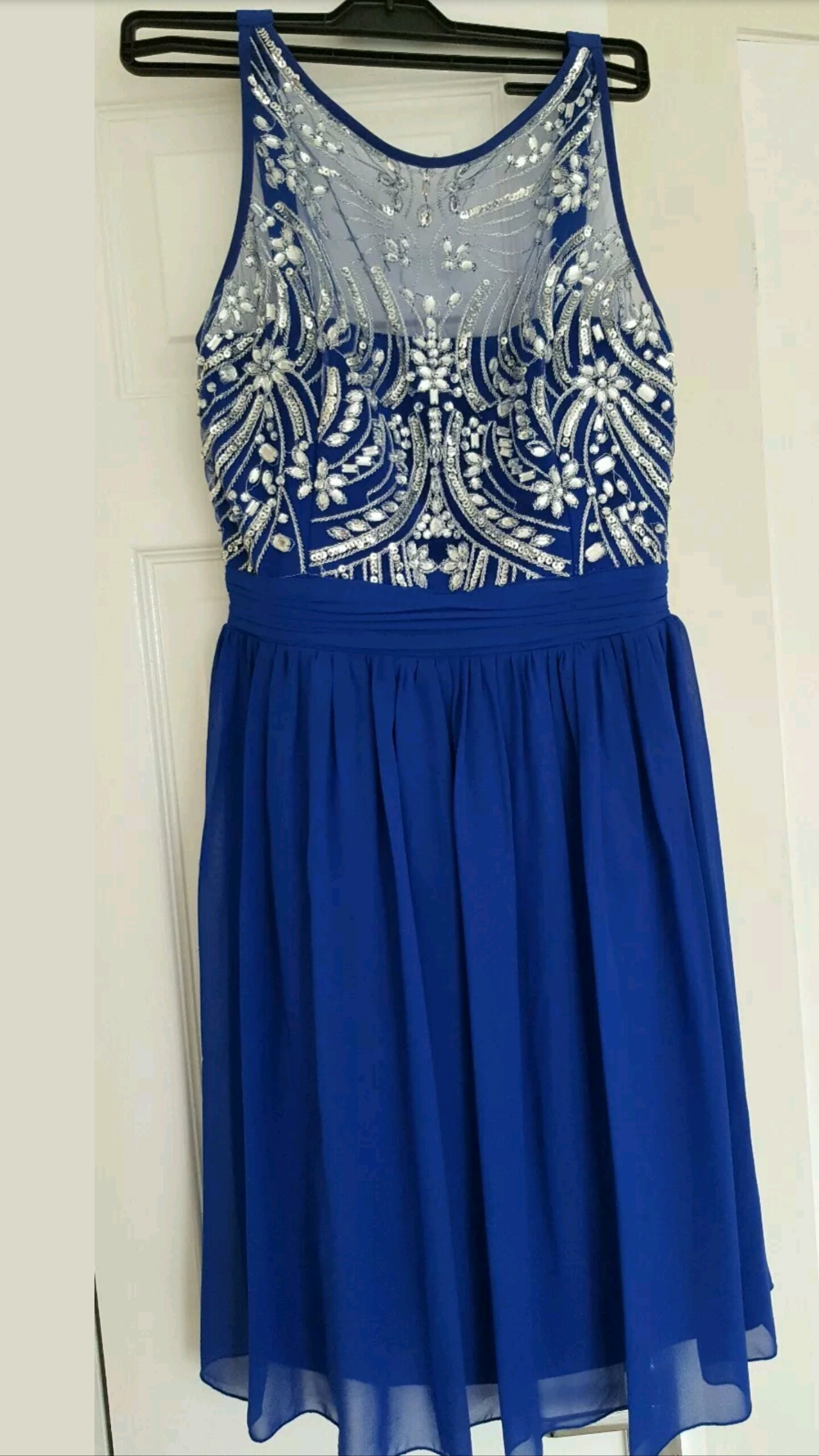 Petrol blue dress quiz