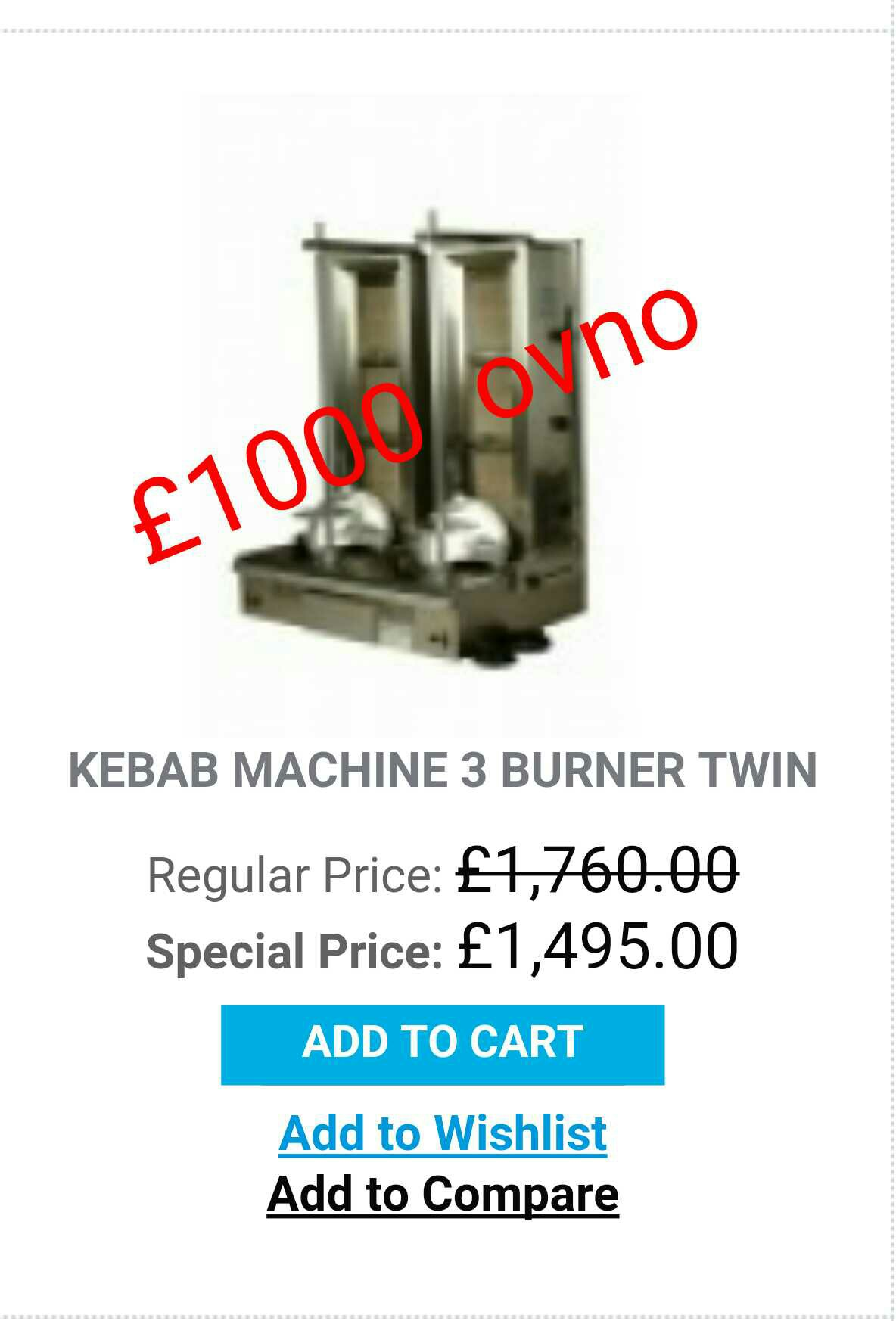 kebab machine for sale