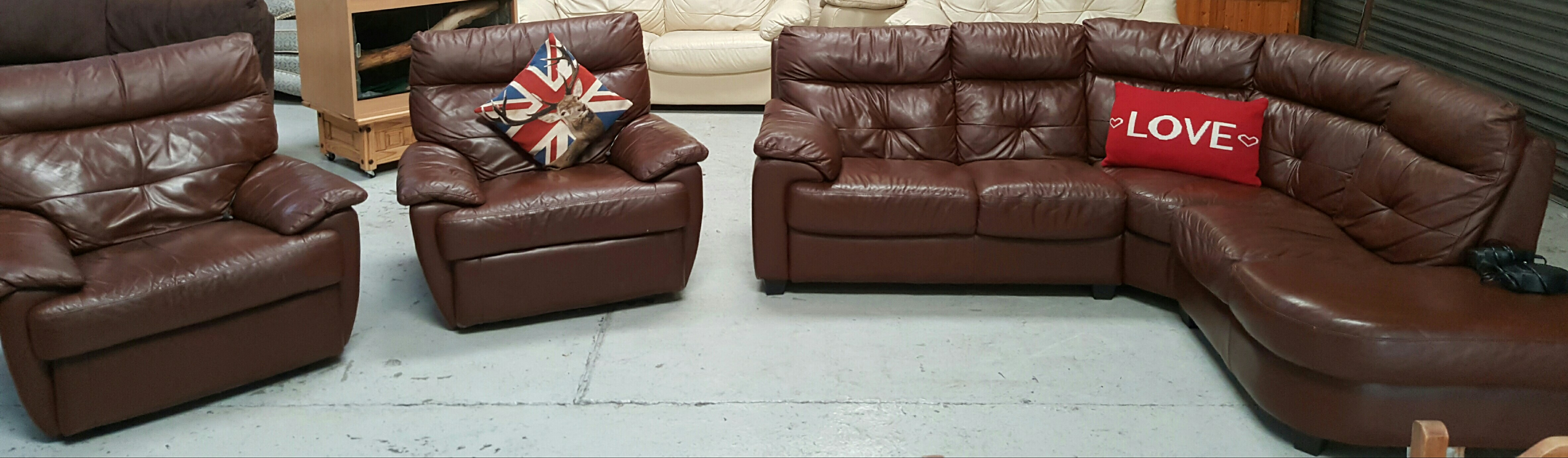 Leather Reclining Chair For Sale In Uk View 192 Bargains