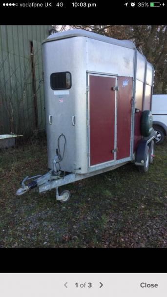 Horse Trailer Used Trailers Buy And Sell In The Uk And