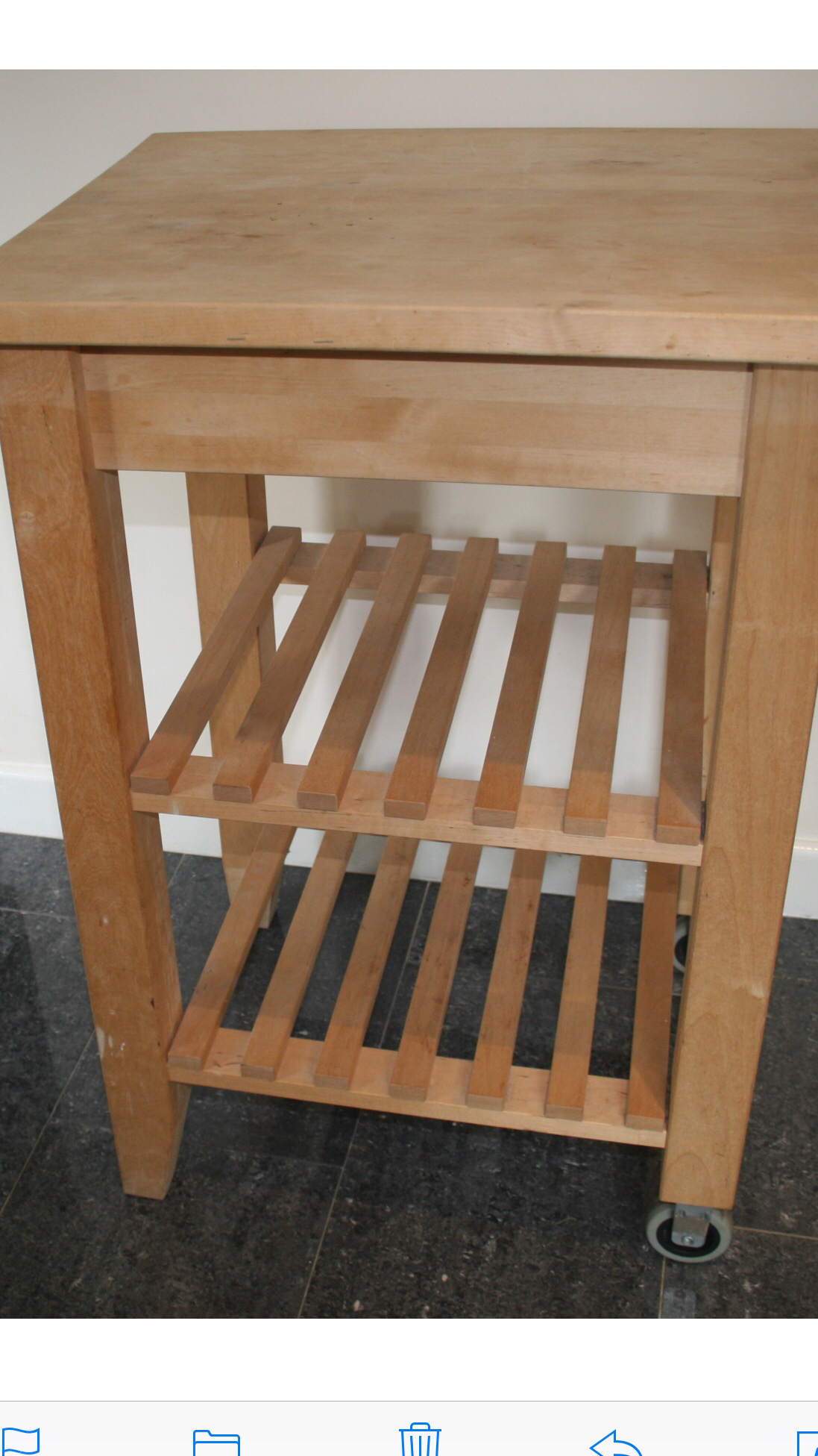 butchers block - Second Hand Kitchen Furniture Buy and Sell in