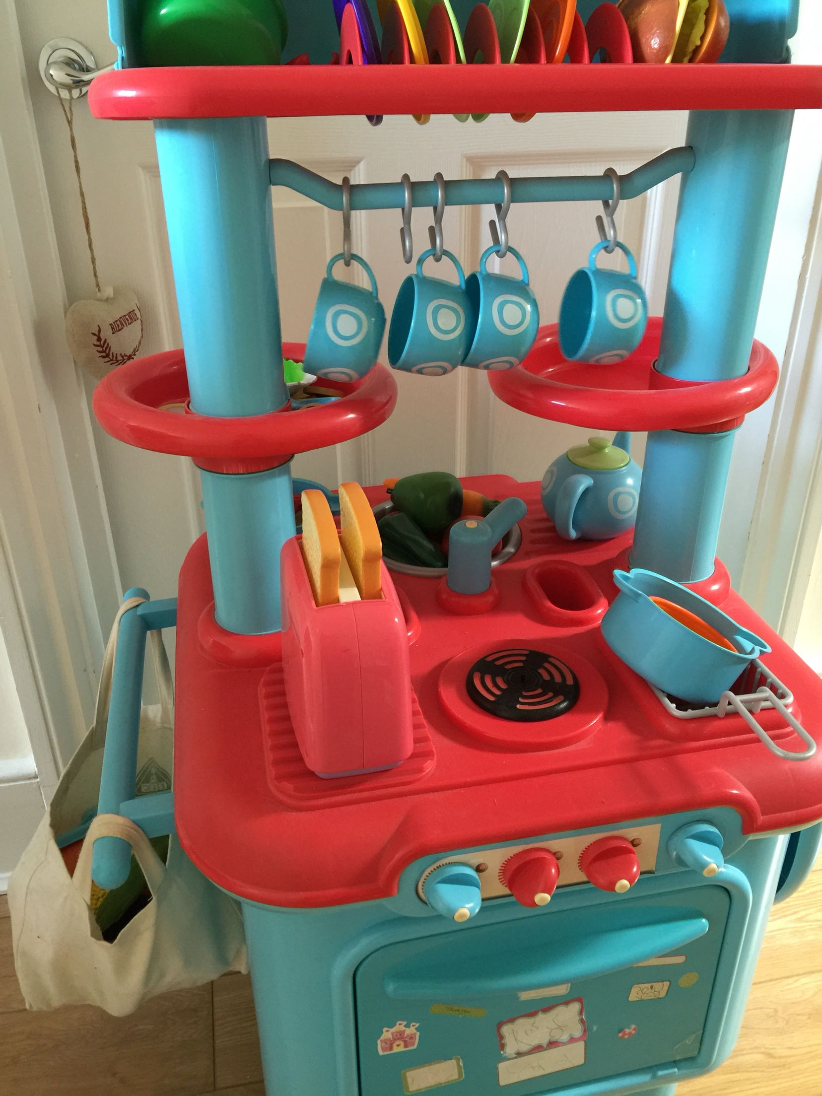 Kitchen play set toy for sale in uk view 83 bargains for Kitchen set 008 83