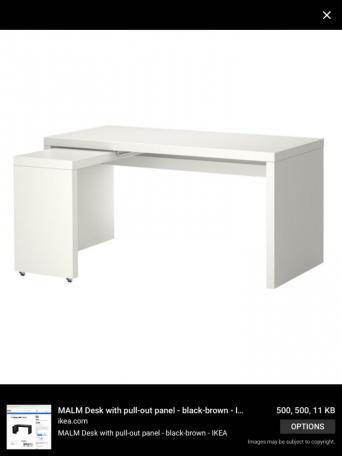 ikea malm desk for sale in uk 68 used ikea malm desks. Black Bedroom Furniture Sets. Home Design Ideas
