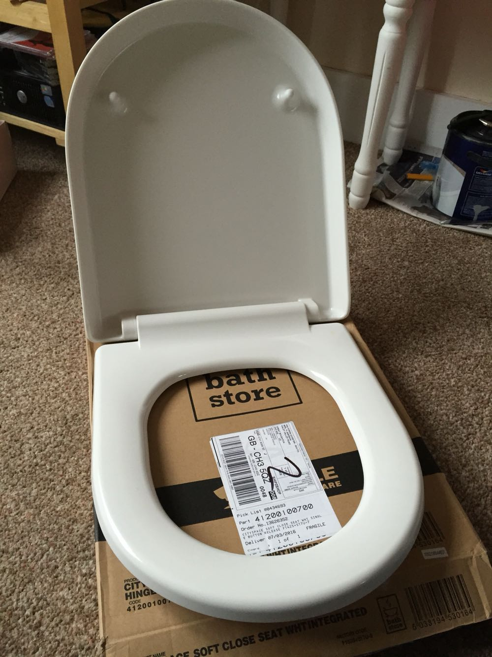 White Soft Close Toilet Seat For Sale In Uk View 81 Ads
