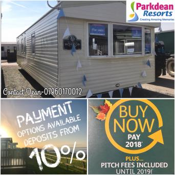 Static Caravan For Sale North West Sea Views 12 Month Park