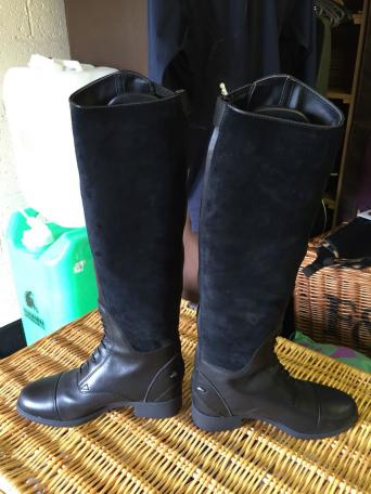 ariat riding boots sale - Second Hand Horse Tack and Clothing, Buy ...