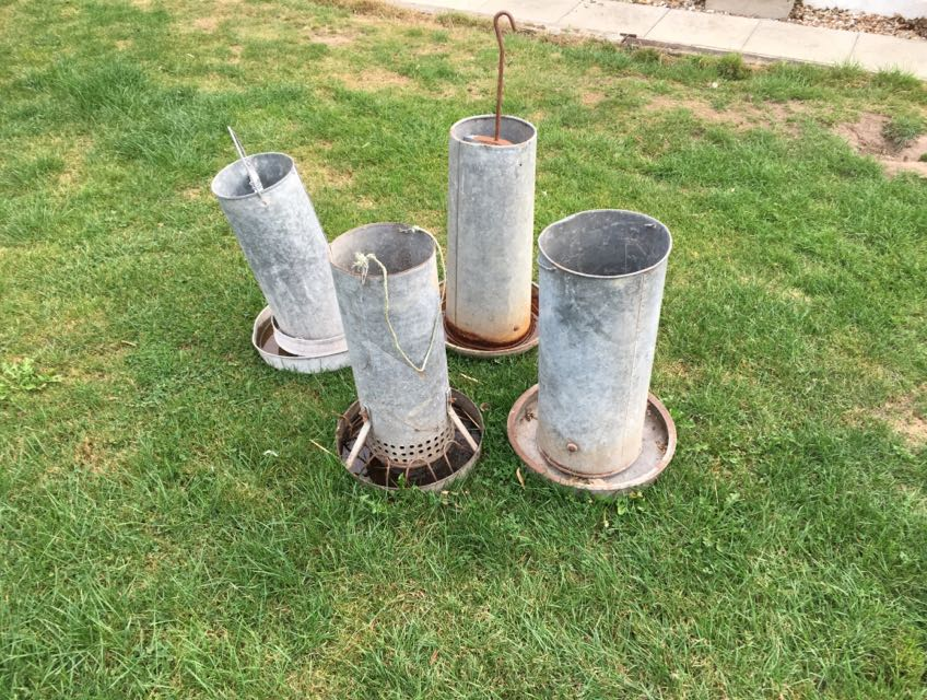 Galvanised Poultry Feeder For Sale In Uk View 75 Ads