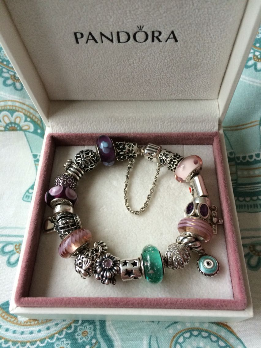 Pandora gold bracelet second hand