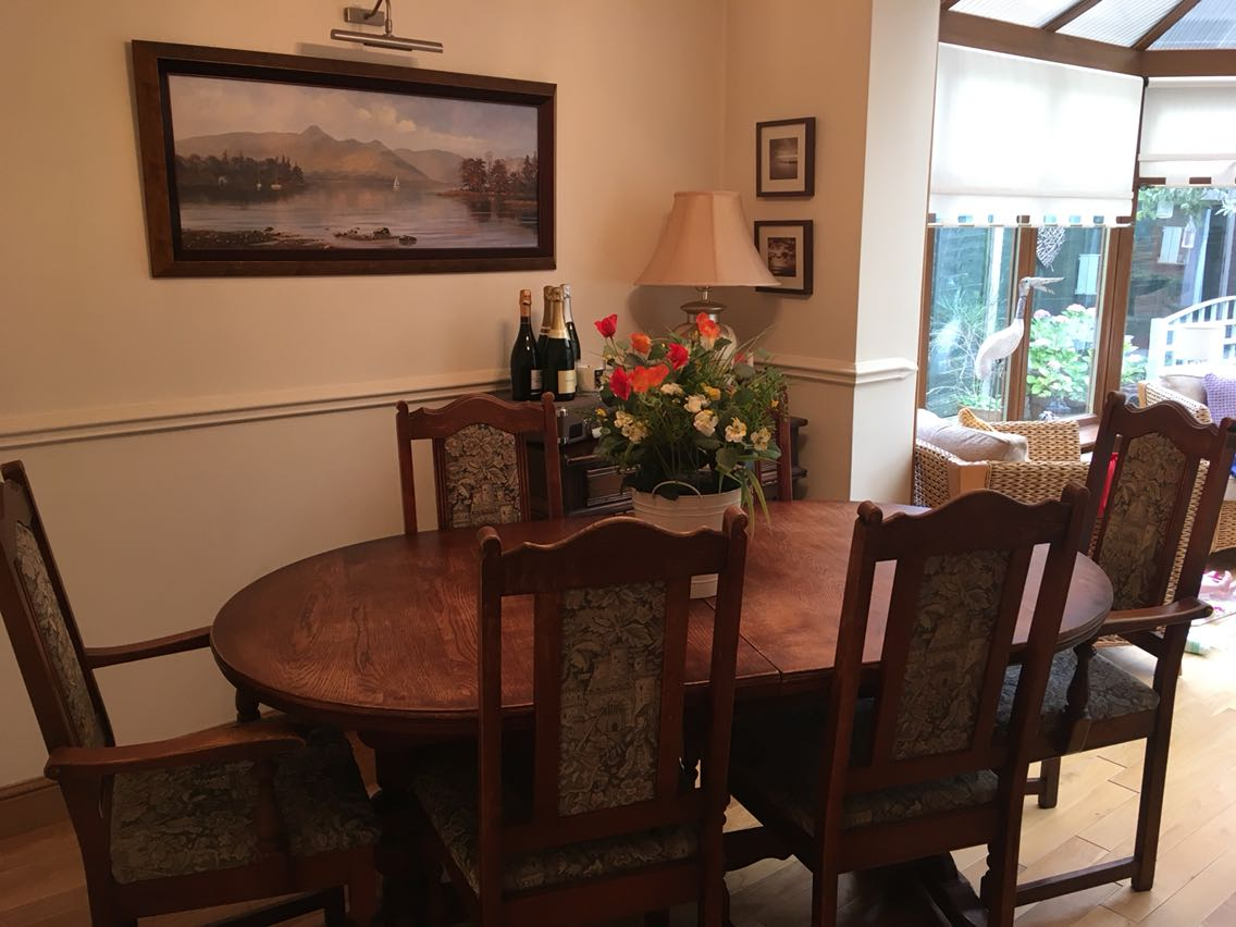 old charm dining table chairs Second Hand Household Furniture