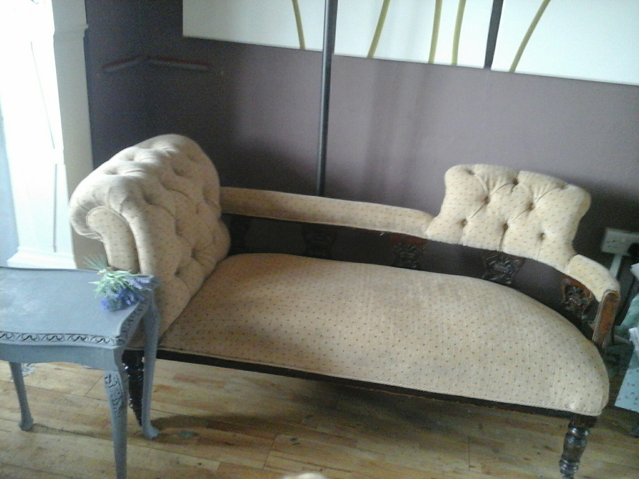 Antique chaise lounge for sale in uk view 117 bargains for Antique chaise lounges for sale