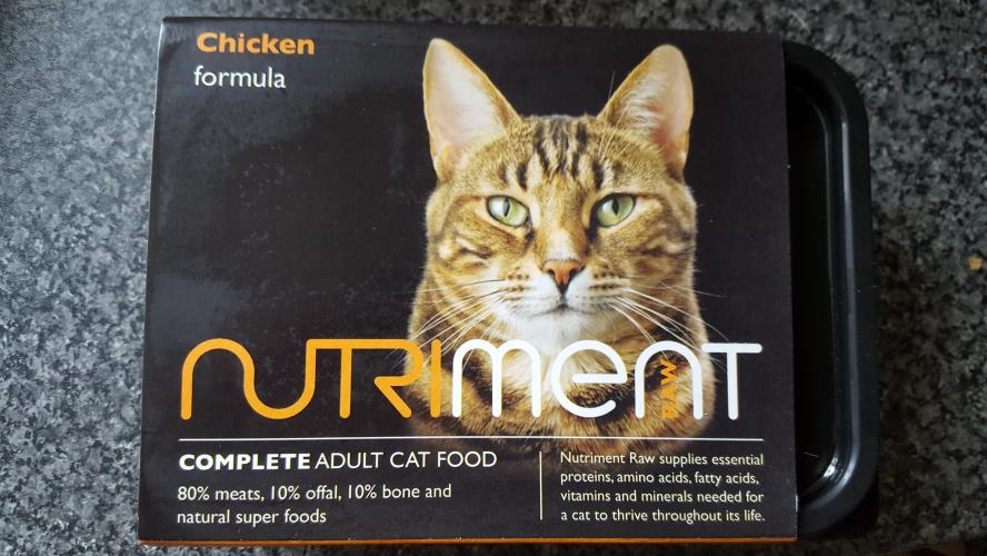 Nutriment Cat Raw Food