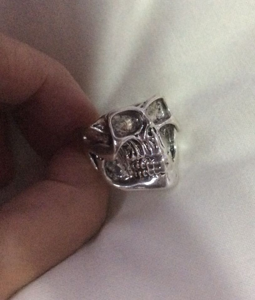 Pirates Skull&Crossbones Biker Ring. for sale  Royston