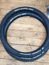 2 mountain bike tyres magic Mary schwalbe 27.5/2.35 - £35