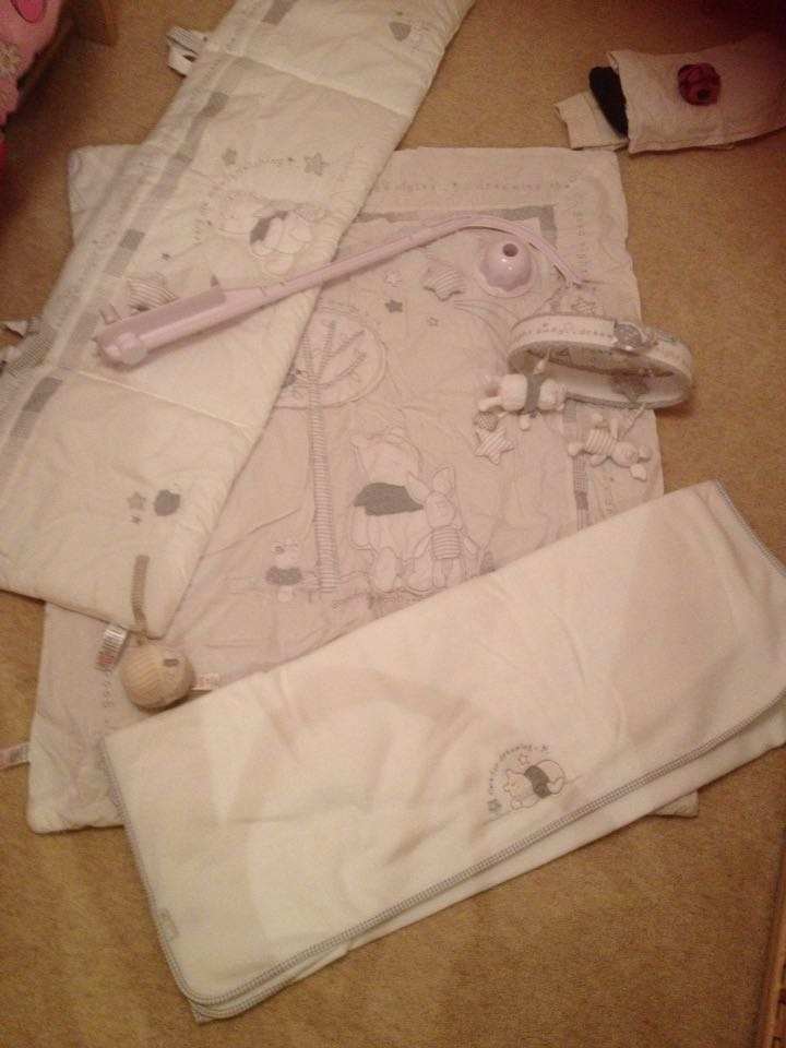 mothercare winnie the pooh cot bed instructions