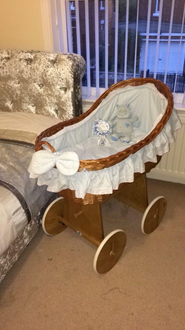 Wicker Crib For Sale In Uk 42 Second Hand Wicker Cribs