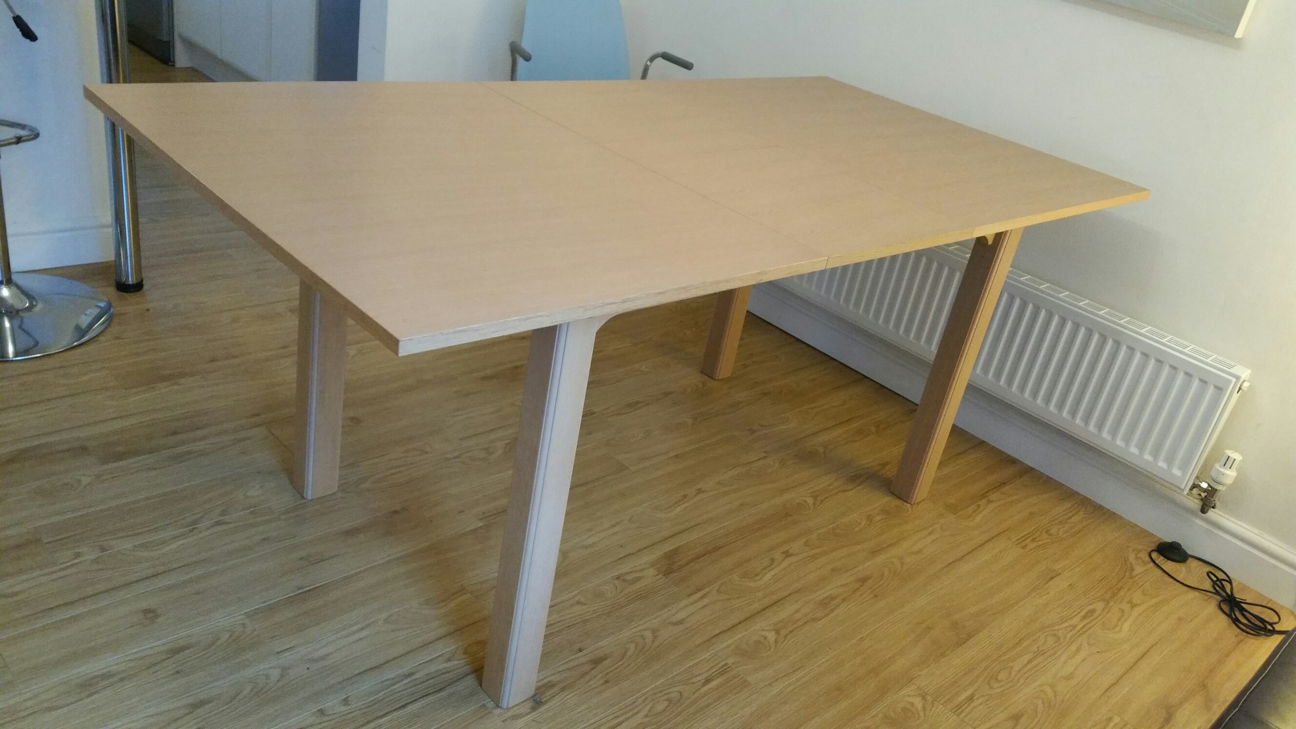 Ikea bjursta extendable dining table for sale in uk for 10 person dining table for sale