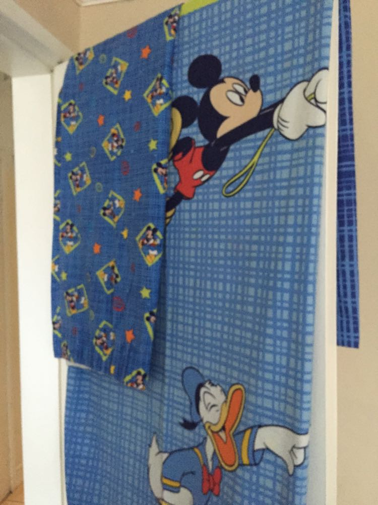 Mickey mouse curtains for sale in uk view 98 bargains - Mickey mouse clubhouse bedroom curtains ...