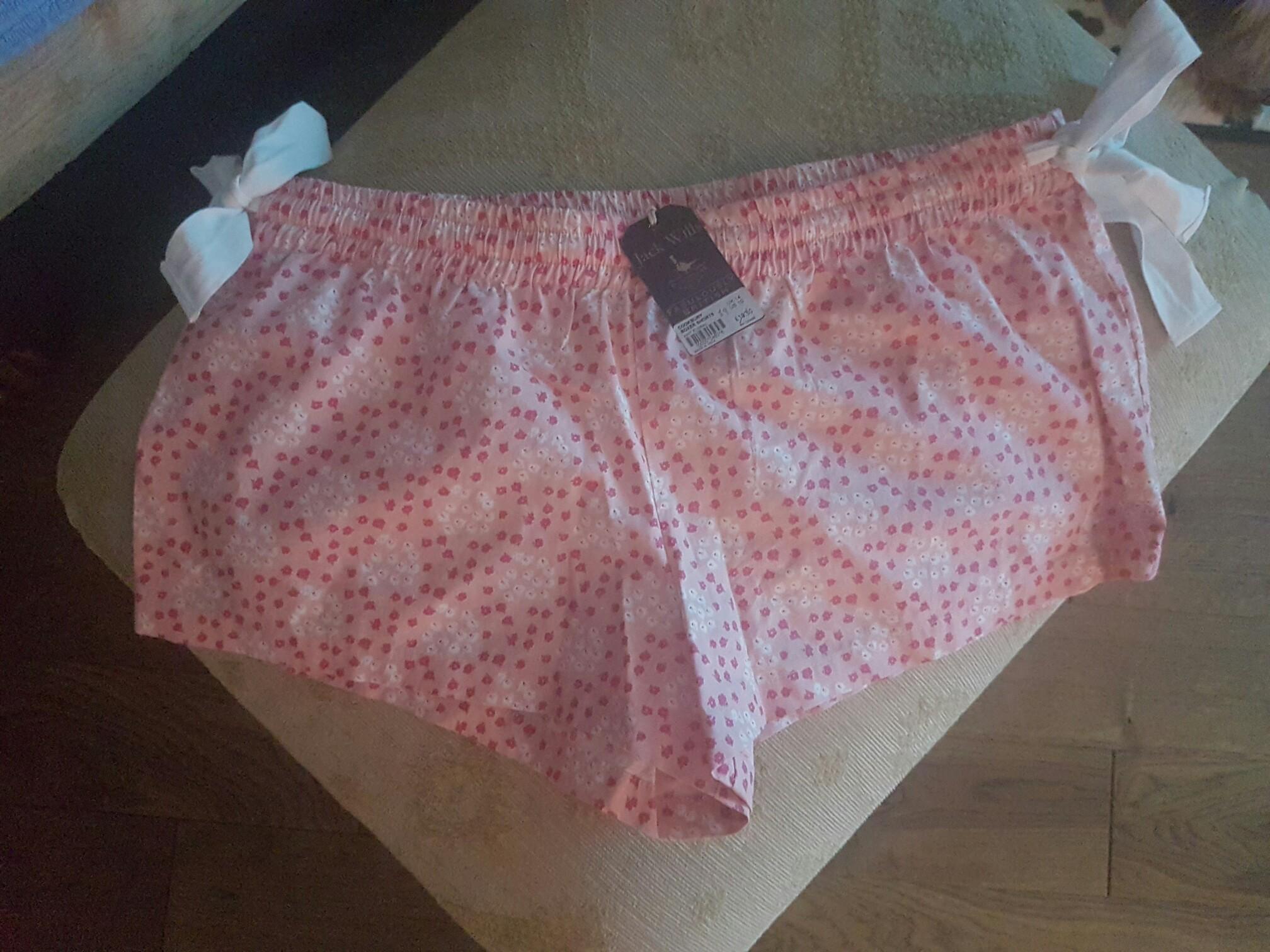 Ladies Jack Wills PJ shorts (14) for sale  Southampton