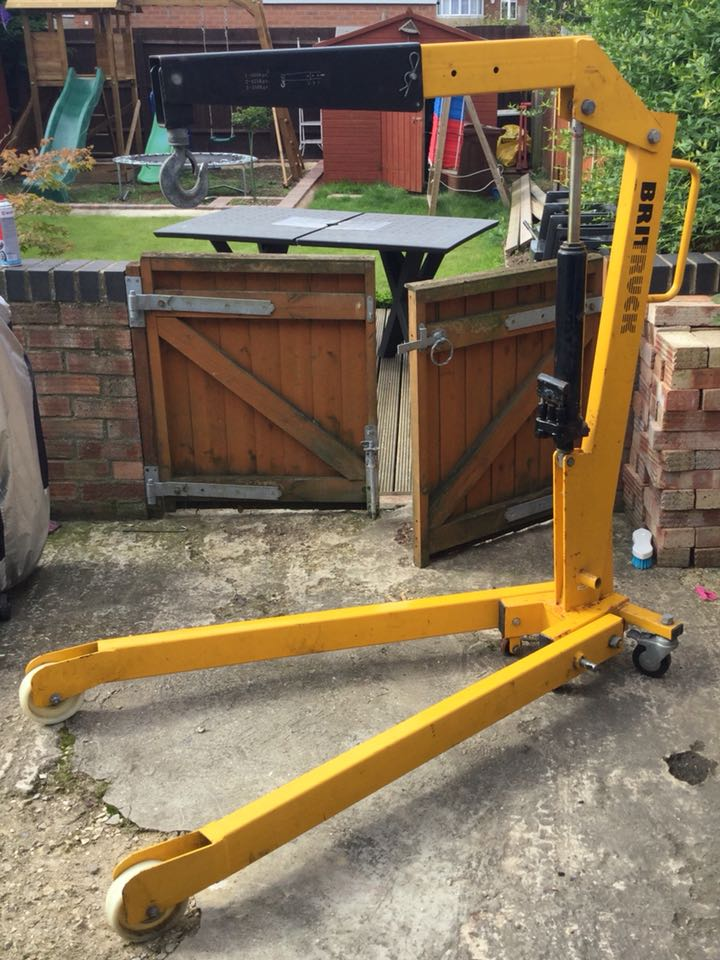Tower Crane Engine : Crane for sale in uk second hand cranes