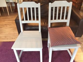 dining chair cushions for sale in uk view 60 bargains. Black Bedroom Furniture Sets. Home Design Ideas