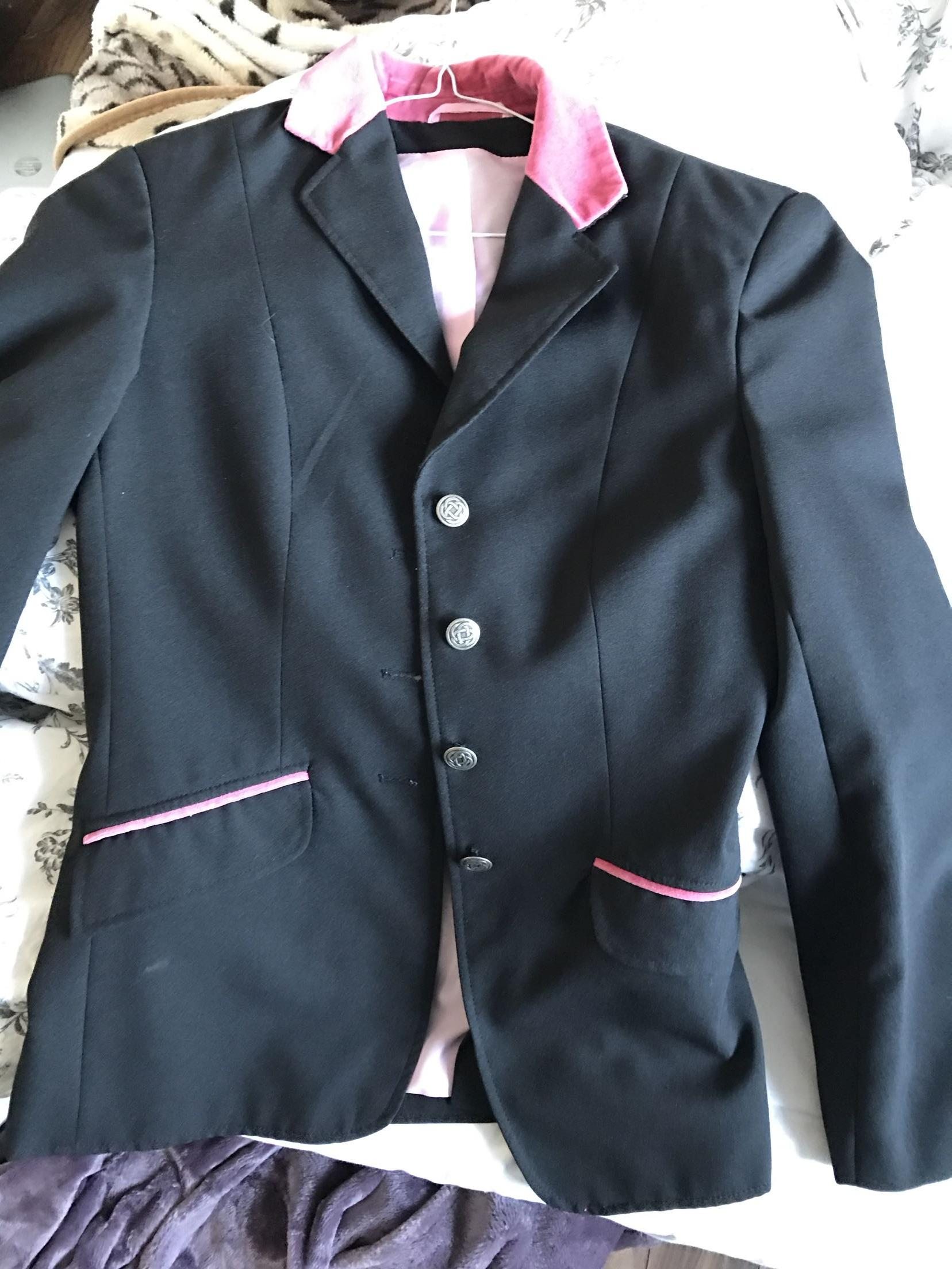 pink show jacket - Second Hand Horse Tack and Clothing, Buy and ...