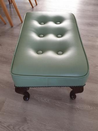 Image 2 of Leather Stool