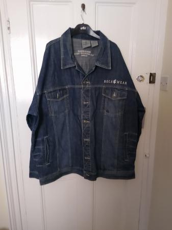 Image 1 of Men's 3XL Roca Wear Denim Long Sleeves Jacket