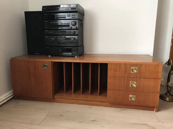 Wooden Media Storage Unit For Sale In Haywards Heath West Sussex
