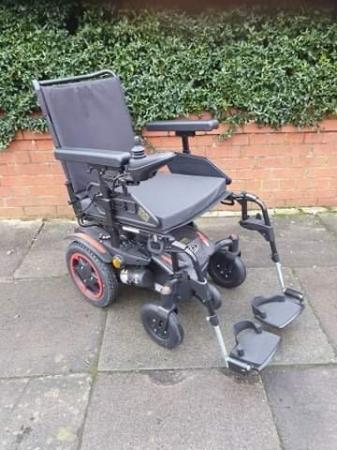 Image 1 of Quickie Q100 R  Ultra Compact Electric Power Wheelchair.